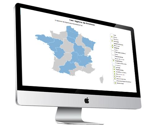 Macentrale.fr Analyse d'une map d'information livraison et achats depuis le logiciel Macentrale.fr pour une centrale - acheteur et fournisseur - Carte information achat - Centrale - Achat - Fournisseur - pour ma CentraleFr -