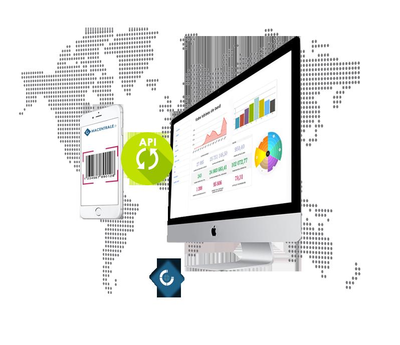 Macentrale.fr Logiciel de centrale d'achats en ligne - Mac - Pc - API - Android - IOS
